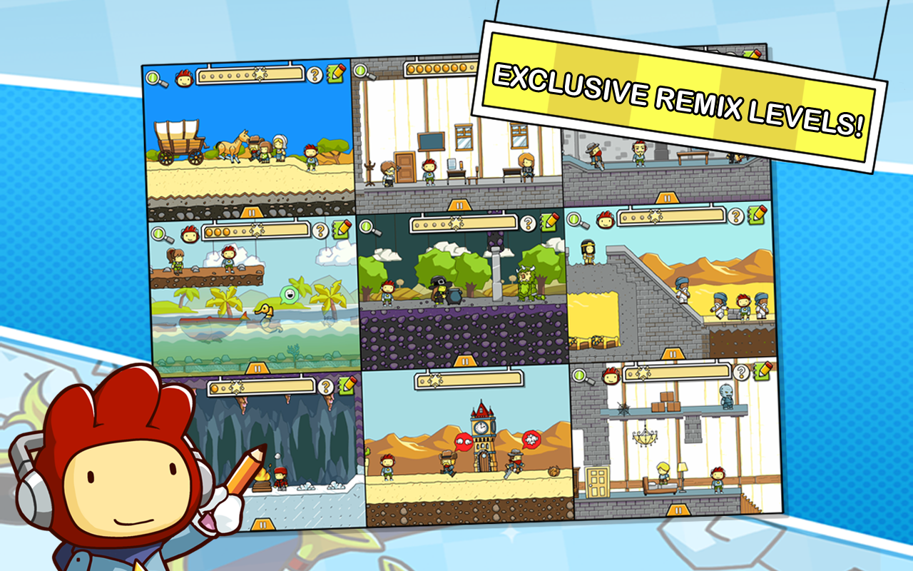 Scribblenauts Remix for iOS.