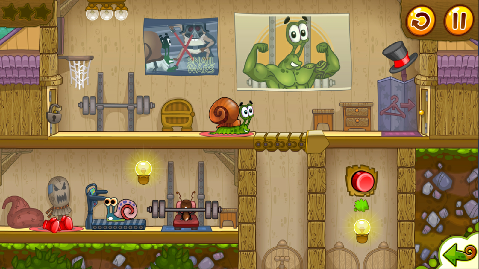 Snail Bob 2 is a pretty charming little puzzle game.