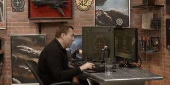 Watch Star Citizen director Chris Roberts troubleshoot his PC for 5 minutes