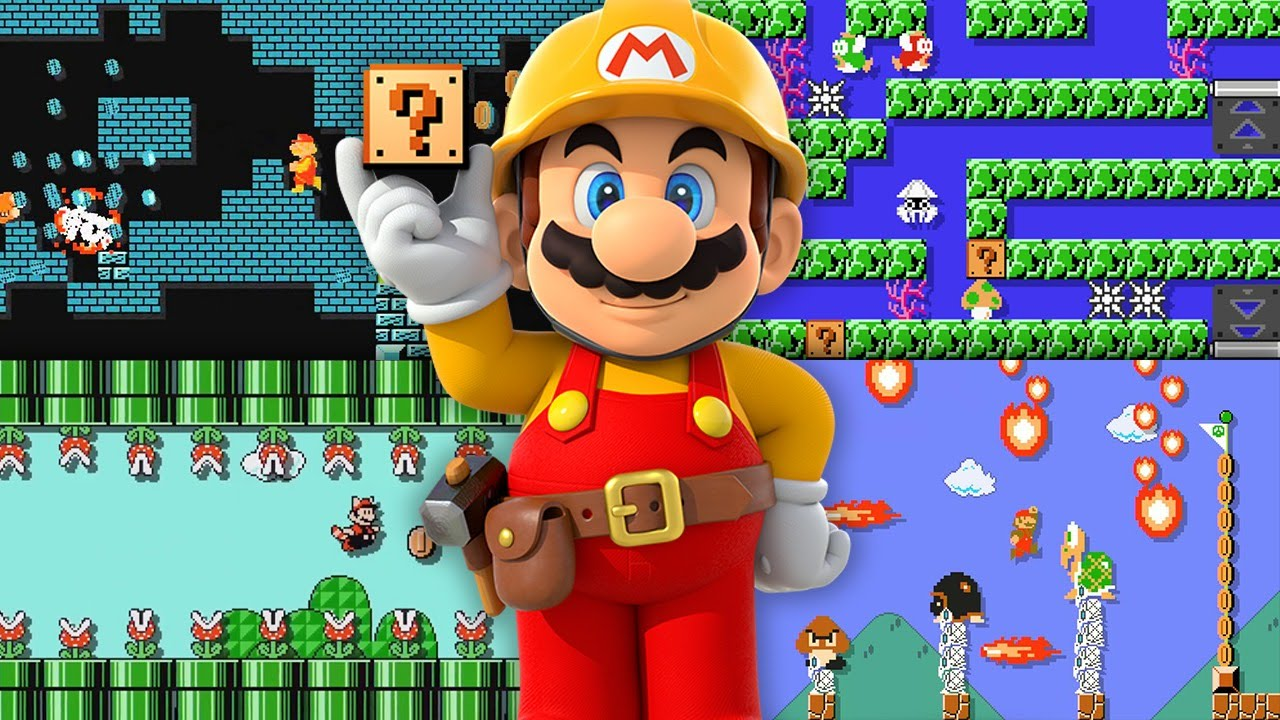 Mario Maker will eventually grow so advanced that it will become self-aware.
