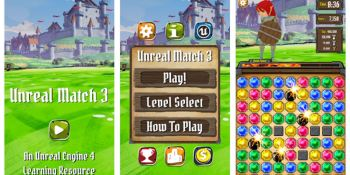 Epic releases Unreal Match 3 smartphone game to teach people how to use its tools