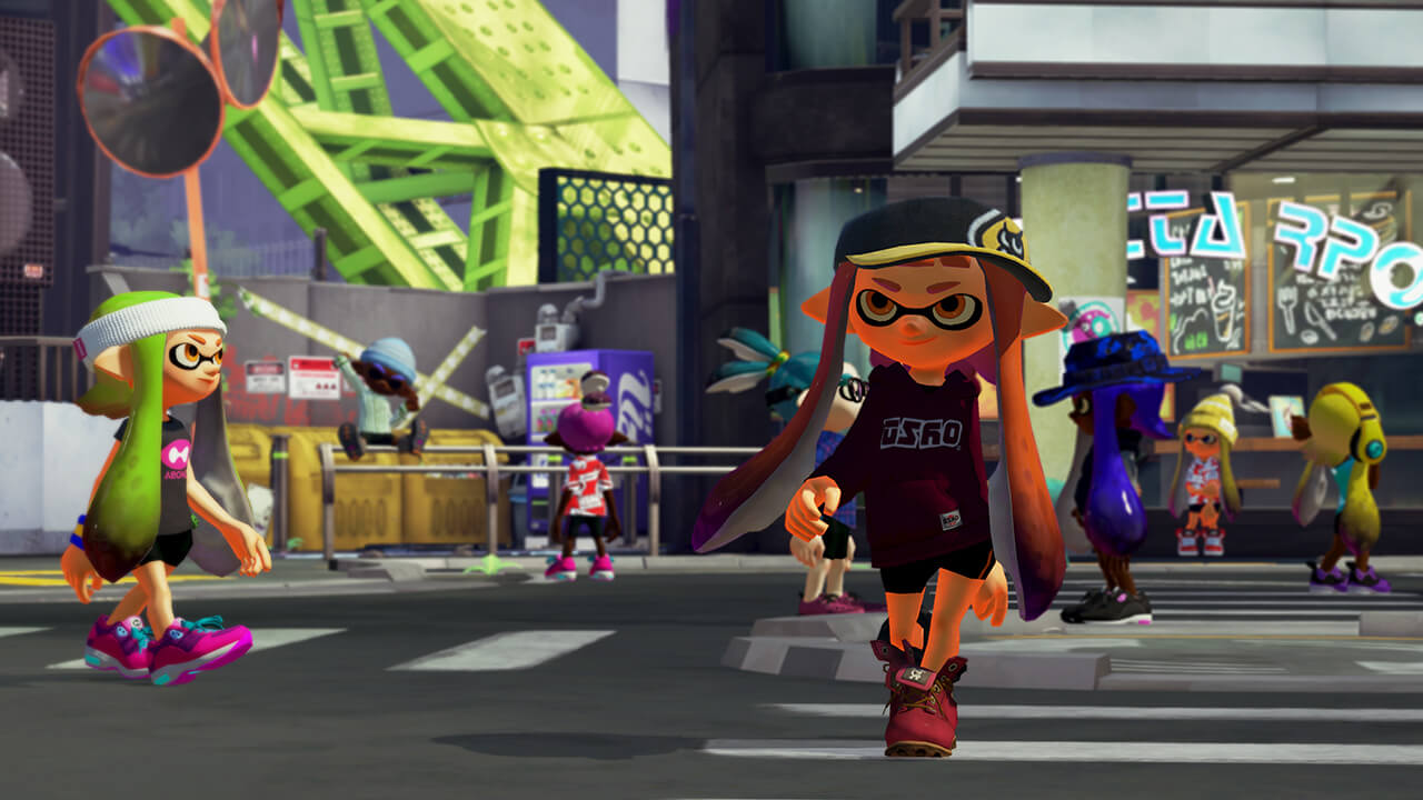 Splatoon was a big hit for Nintendo this year.