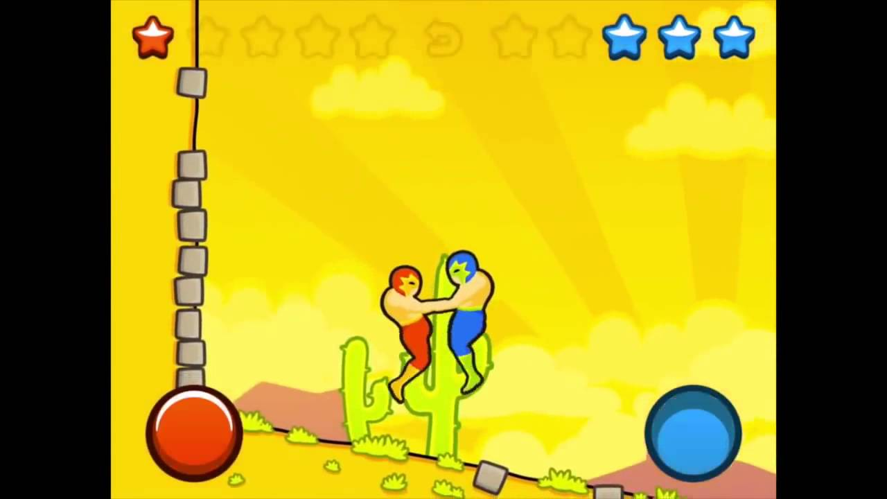 Wrestle Jump is dumb one-button fun for iOS.