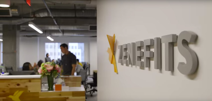 Zenefits has its headquarters in San Francisco.