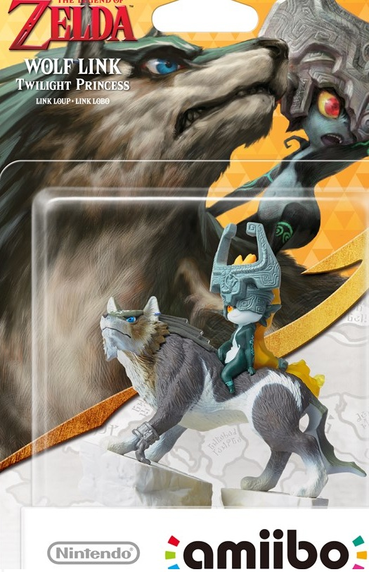 Nintendo has more Amiibo -- like Wolf Link -- planned for next year.