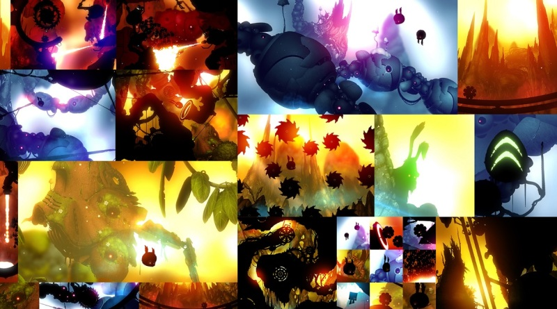 Scenes from Badland 2.
