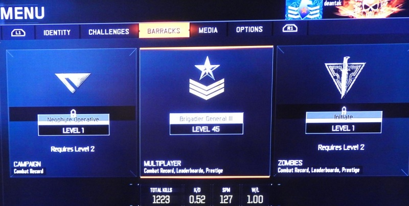 This is slightly outdated, as I'm now a Major General III. Only seven levels away from the top level, Prestige.