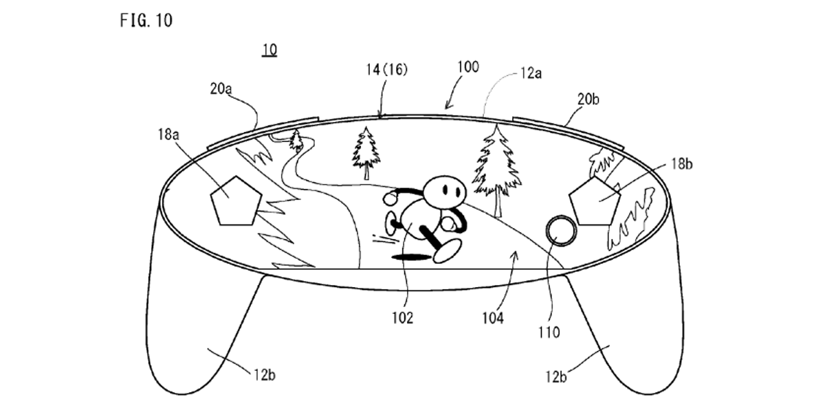 patent reveals a potential new nintendo controller