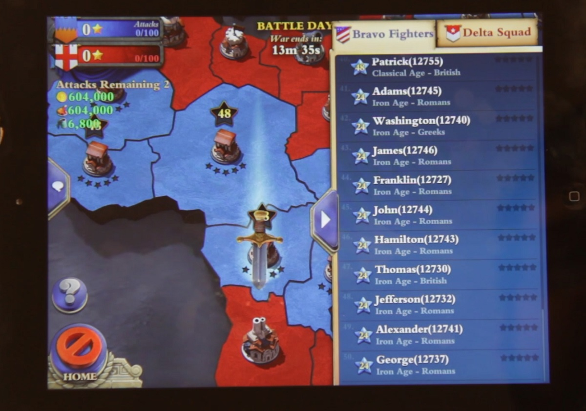 You can inspect the enemy players to see which is worth attacking in DomiNations World War.