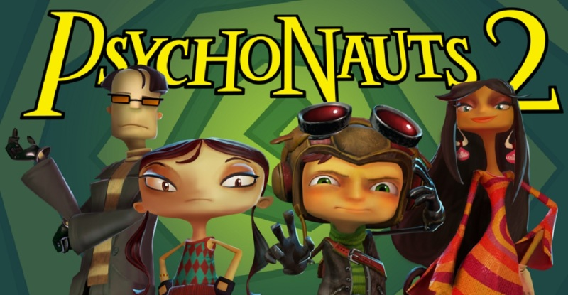 Double Fine is raising $3.3 million for Psychonauts 2.