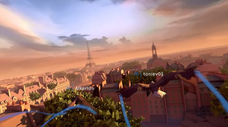 You can play multiplayer in VR in Ubisoft Montreal's Eagle Flight.