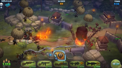 Guns Up! brings the casual nature of Clash of Clans to the