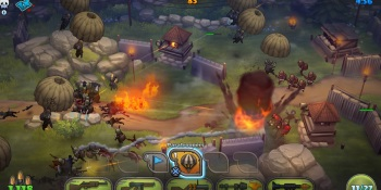 Guns Up! brings the casual nature of Clash of Clans to the console — with lag. Lots of lag