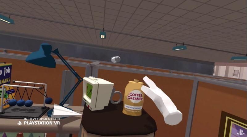 Job Simulator for PlayStation VR.