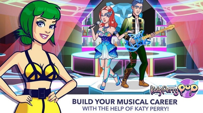 Katy Perry Pop is an online-only connected game for music fans.
