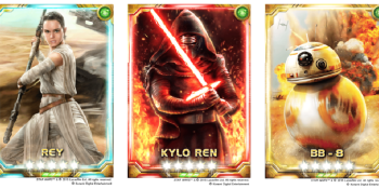 The mobile Star Wars card game you forgot about gets Force Awakens cards