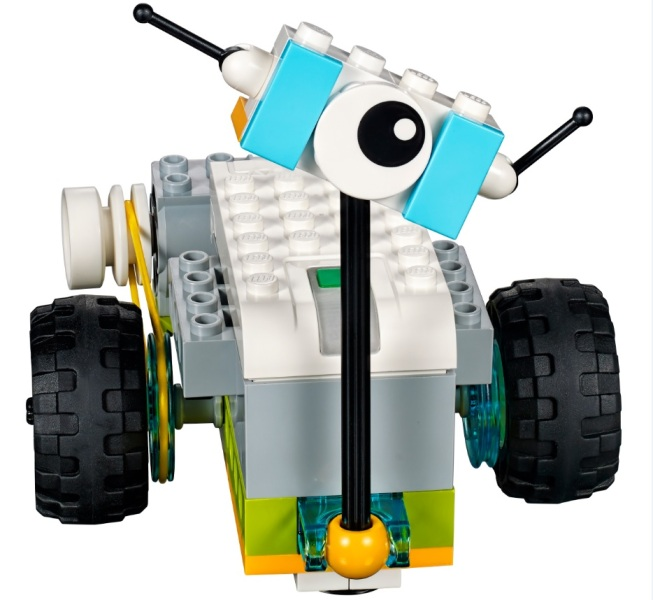 Here's the robot that comes with the Lego Education WeDo 2.0 system.