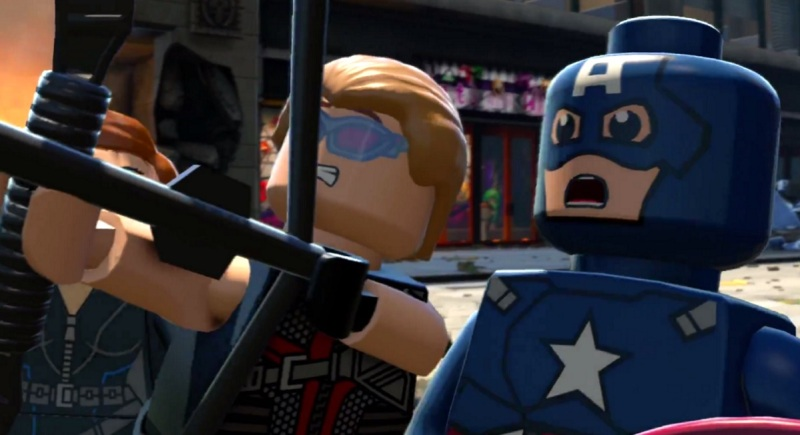 Lego Marvel's Avengers is an open world game with lots of directed missions.