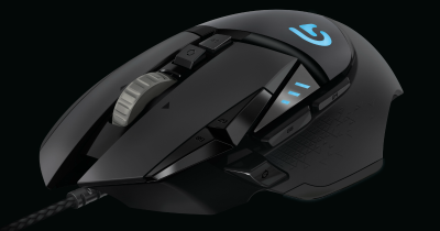 cf15f63c1f6 Logitech upgrades its Proteus Spectrum G502 gaming mouse … with colored  lights