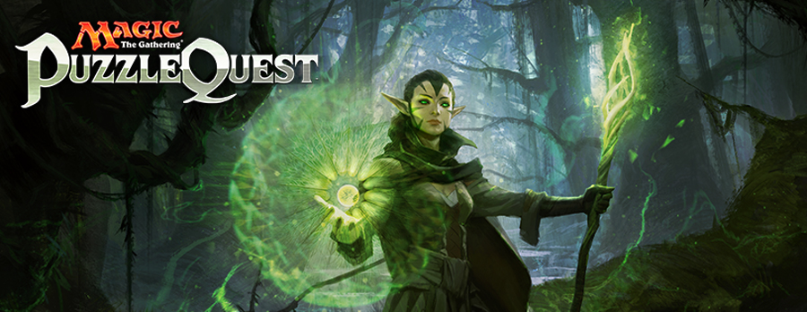 Magic: The Gathering -- Puzzle Quest.