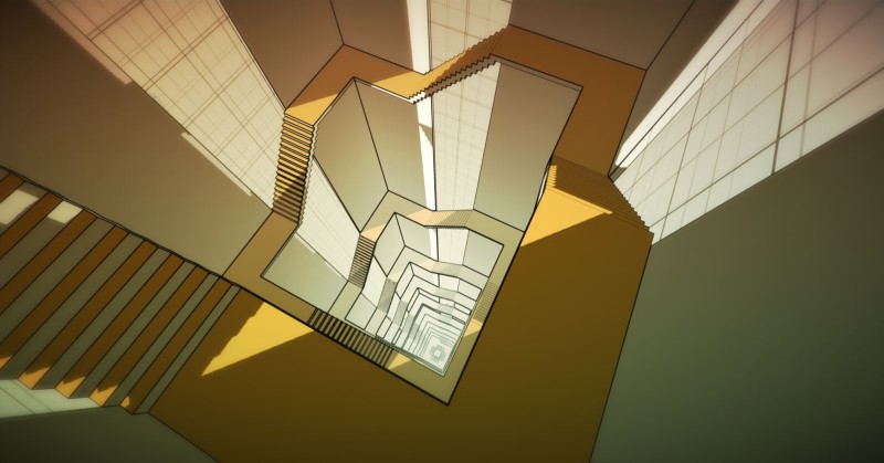 Manifold Garden by William Chyr is an upcoming indie PS4 title.