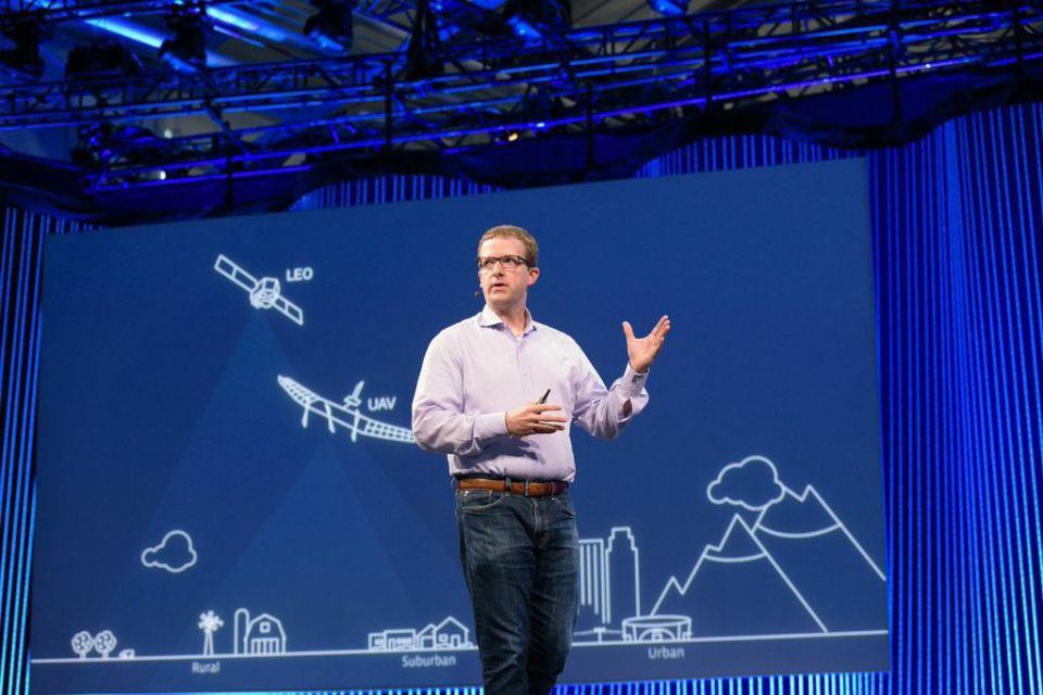 Facebook CTO Mike Schroepfer speaking at the 2015 F8 developer conference.
