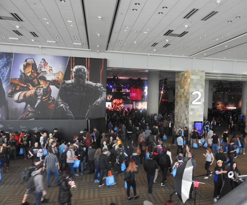 The crowd at the PlayStation Experience.