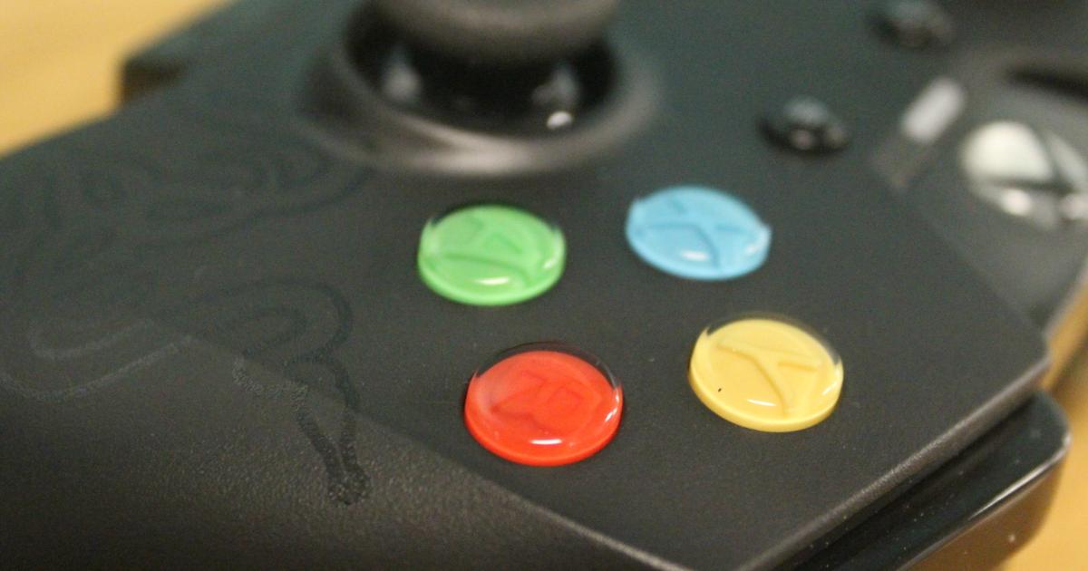 Razer Wildcat Xbox One controller face buttons