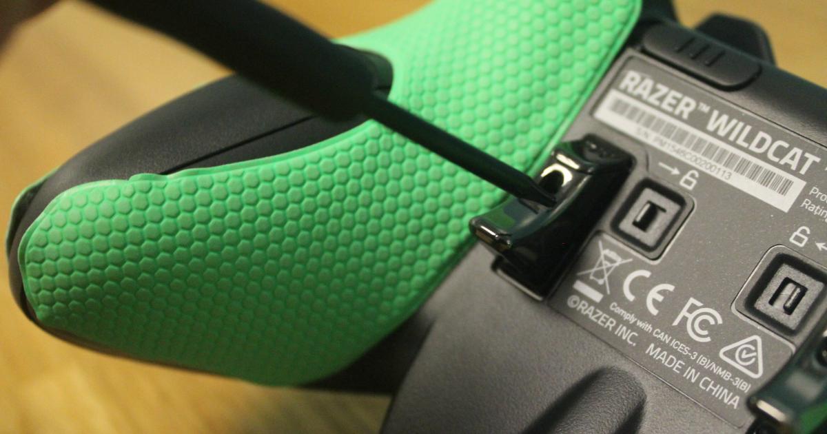 Razer Wildcat Xbox One controller M button adjustment