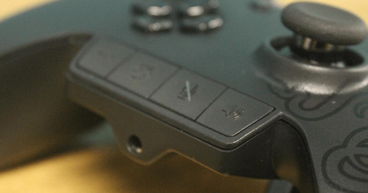 Razer Wildcat Xbox One controller microphone panel