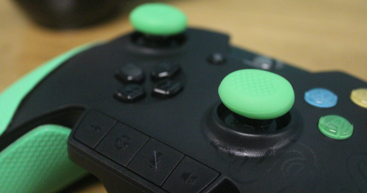 Razer Wildcat Xbox One controller dual stick nub covers