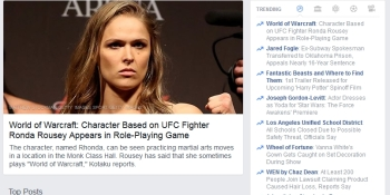 Ronda Rousey in World of Warcraft? Nope — meet Rhonda Cox