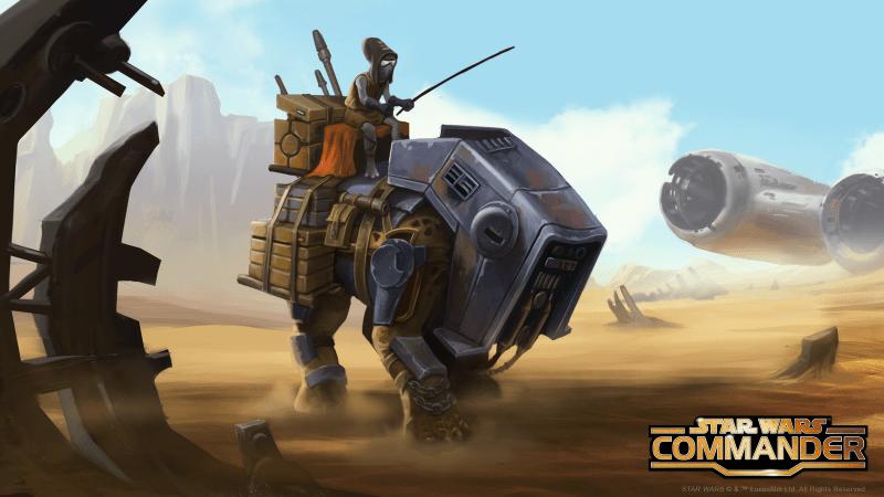 Star Wars: Commander.