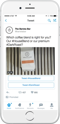 Twitter Conversational Ad