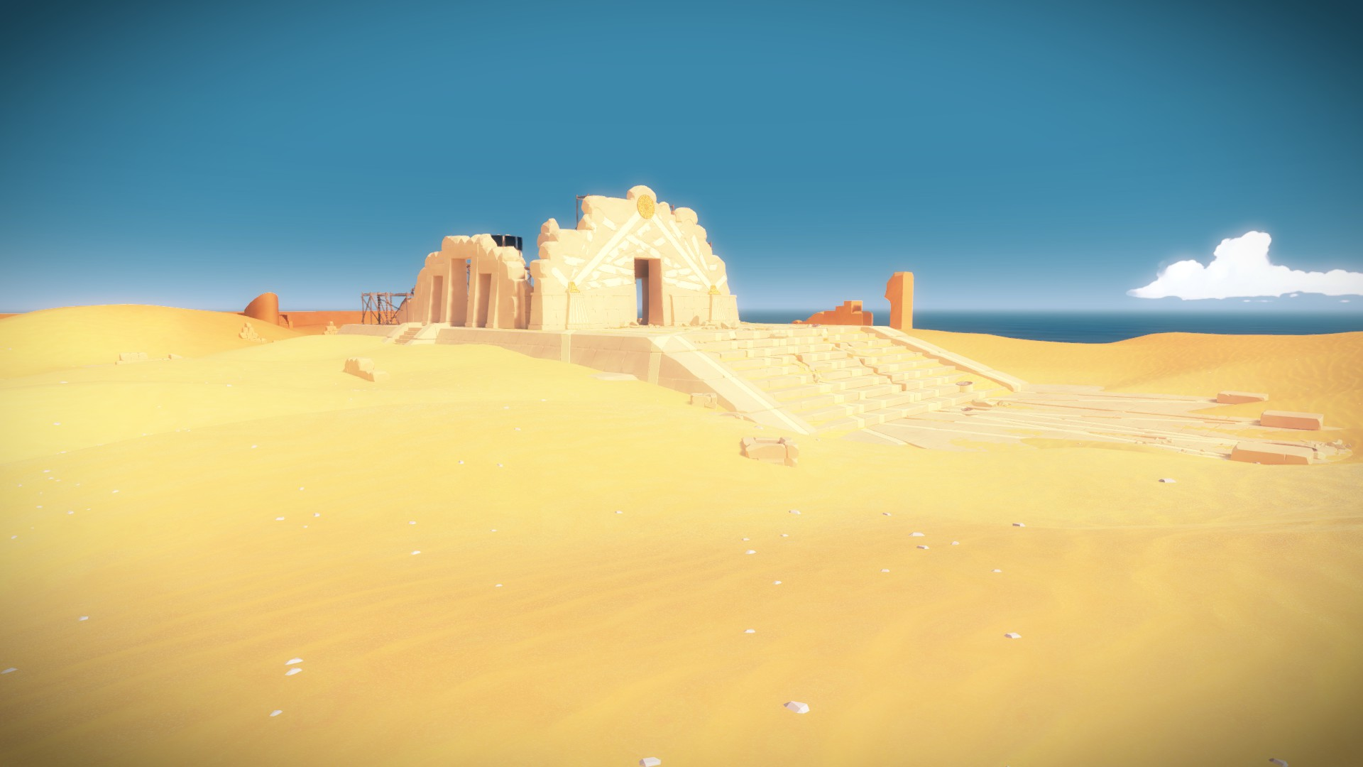 The Sand Temple -- now things are starting to get hard.