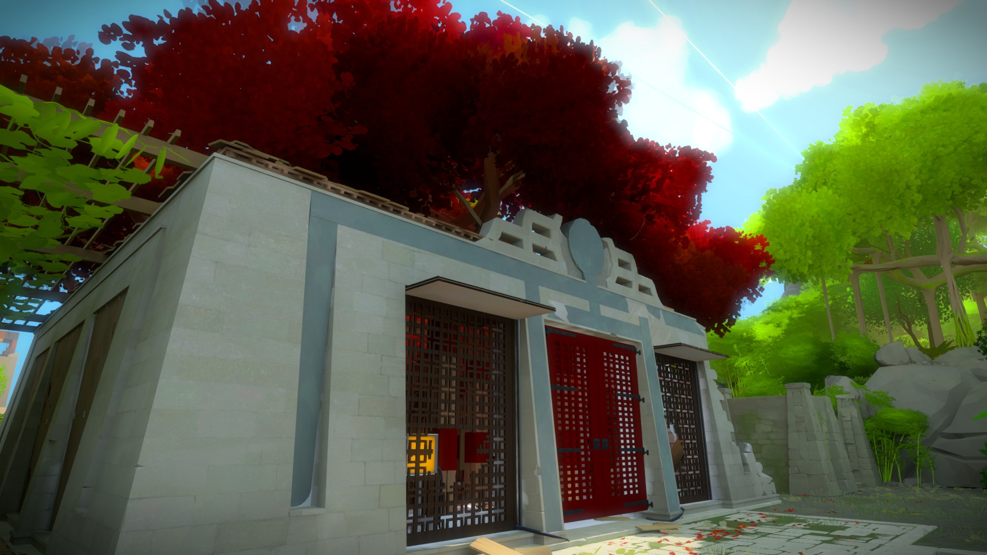 The Tree Temple has some of the best observational puzzles in the game.