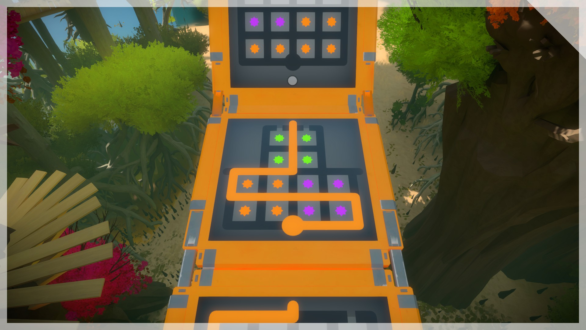 Drawing Lines Of Symmetry Games : The witness: how to solve every puzzle walkthrough guide gamesbeat