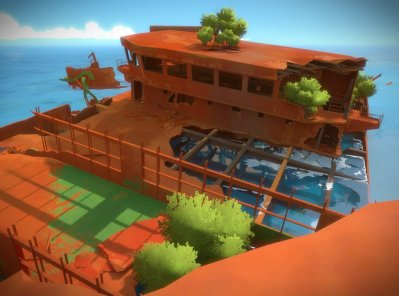 the witness ship puzzle hint