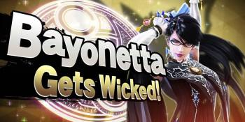 Bayonetta and Fire Emblem's Corrin hit Smash Bros. on Wednesday