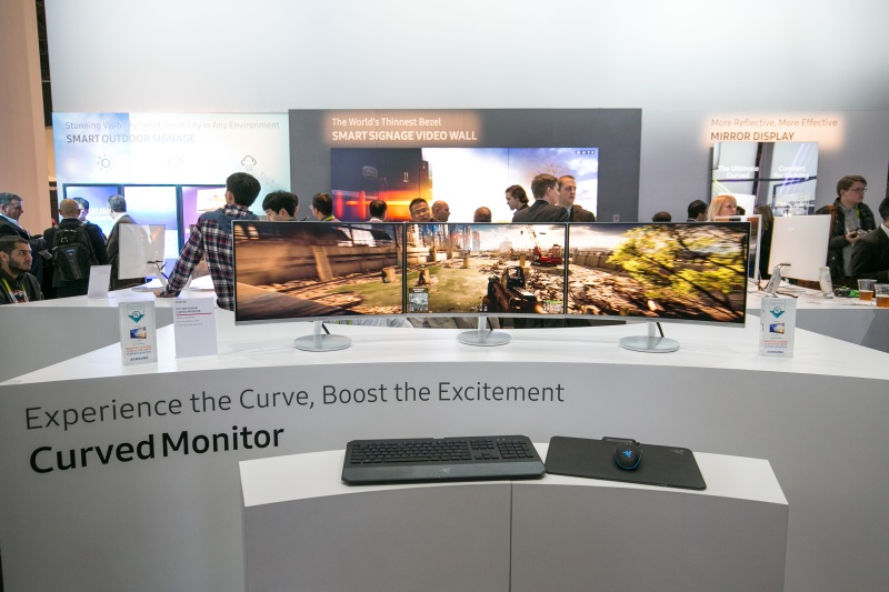 Curved Gaming Monitors