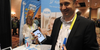 Who wants a gamified and web-connected toothbrush from Kolibree?