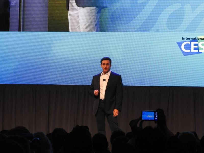 Ford CEO Mark Fields at CES 2016.