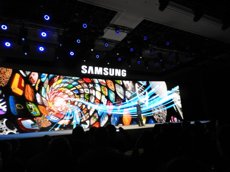 Samsung's press event in 2016.