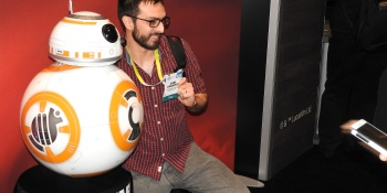Star Wars BB-8 droid draws crowds at Sphero's CES 2016 booth