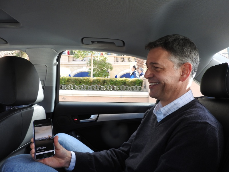 Luke Schneider shows how it's easy to rent a car with Silvercar.