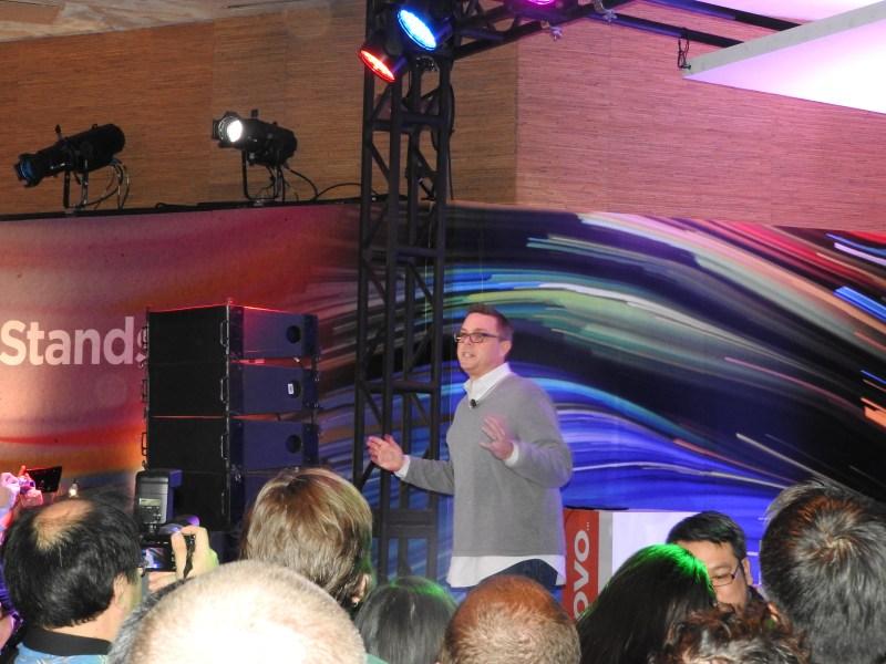 Jeff Meredith of Lenovo