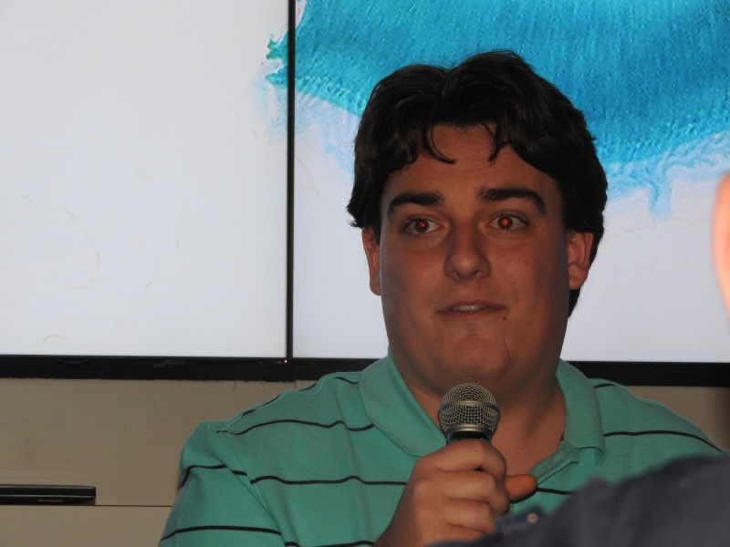 Oculus founder Palmer Luckey at CES 2016.