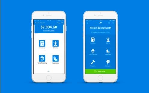 Freshbooks app