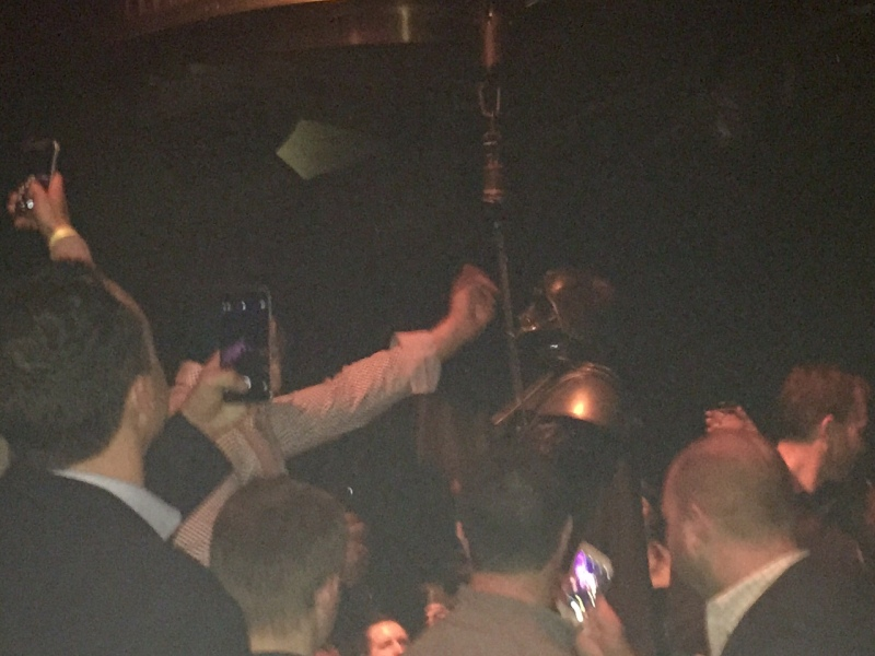 Darth Vader at Microsoft party.