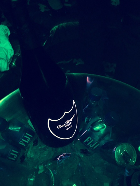 Dom Perignon bottle